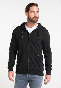 DreiMaster - Zip-up hoodie - black - 0