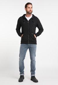 DreiMaster - Zip-up hoodie - black - 1