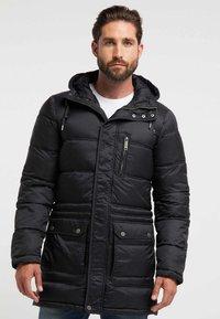 DreiMaster - Winter coat - black - 0