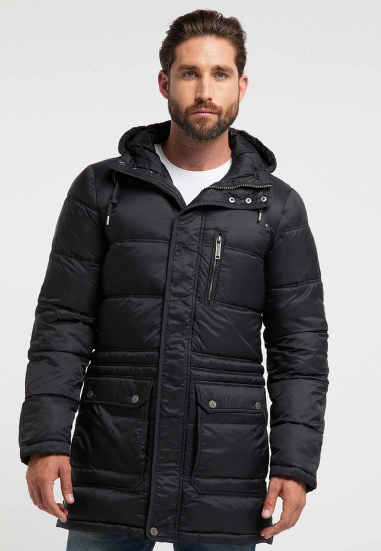 DreiMaster - Winter coat - black