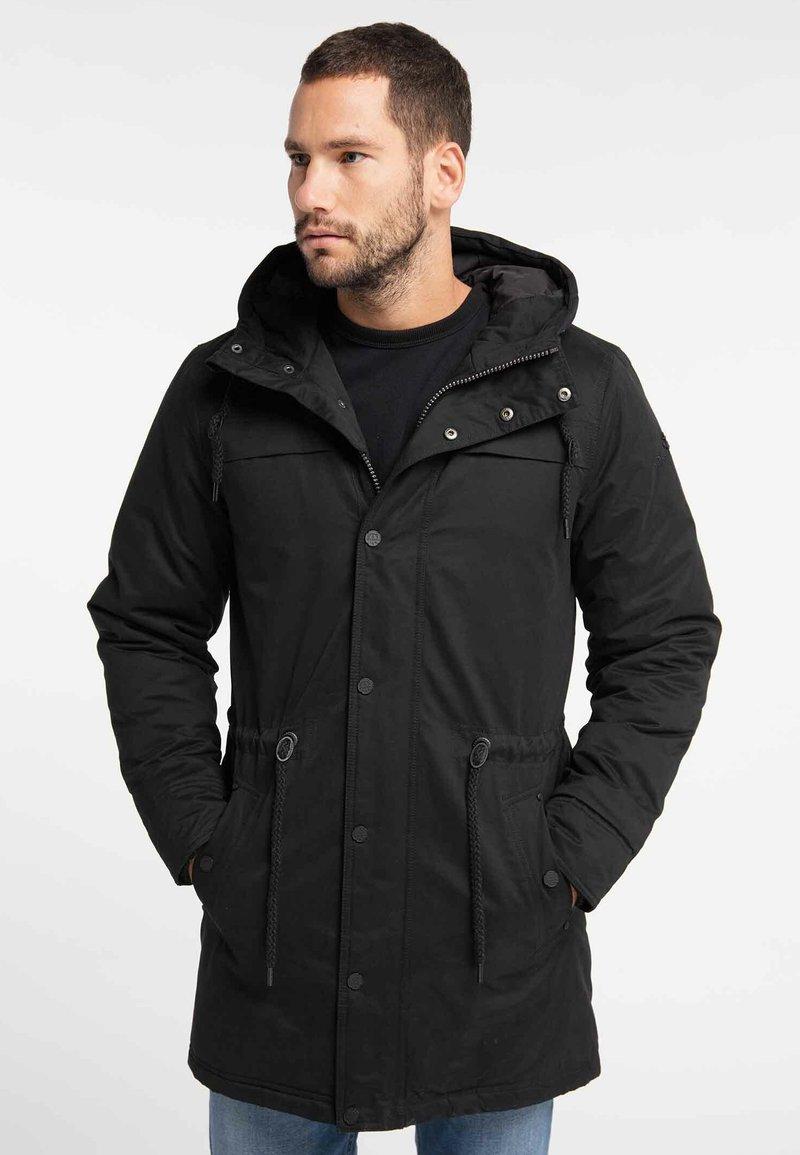 DreiMaster - Cappotto invernale - black
