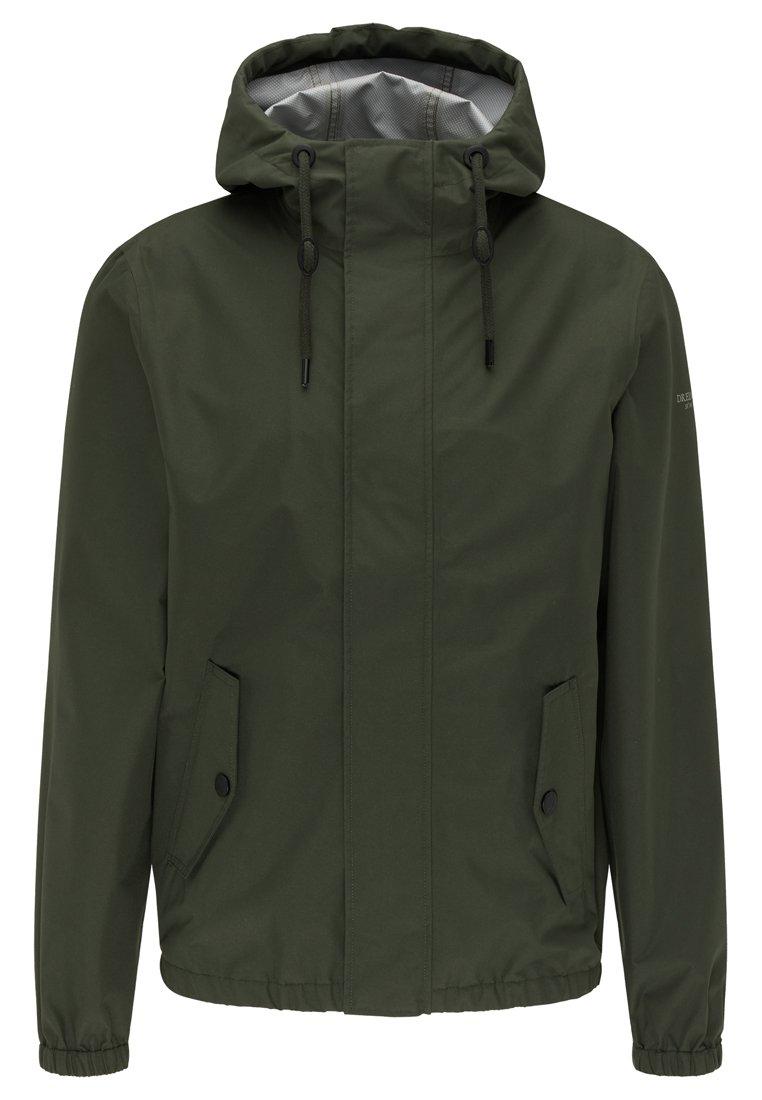 Dreimaster Regenjacke / Wasserabweisende Jacke - Dark Green