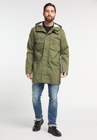 DreiMaster - Parka - military green - 1