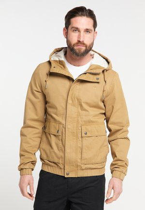 Outdoor jacket - dark sand