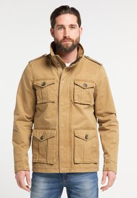 DreiMaster - Summer jacket - dark sand - 0