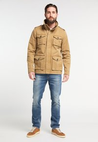 DreiMaster - Summer jacket - dark sand - 1