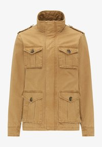 DreiMaster - Summer jacket - dark sand - 4