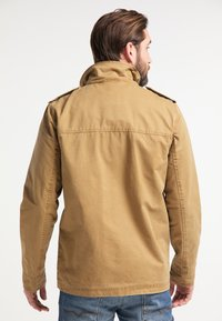DreiMaster - Summer jacket - dark sand - 2