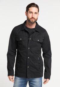 DreiMaster - Summer jacket - black - 0