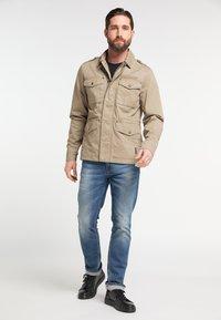 DreiMaster - Summer jacket - mud - 1