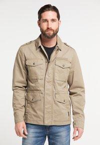 DreiMaster - Summer jacket - mud - 0