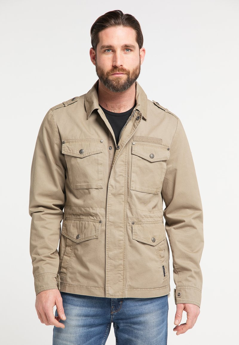 DreiMaster - Summer jacket - mud