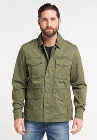 DreiMaster - Summer jacket - military green - 0