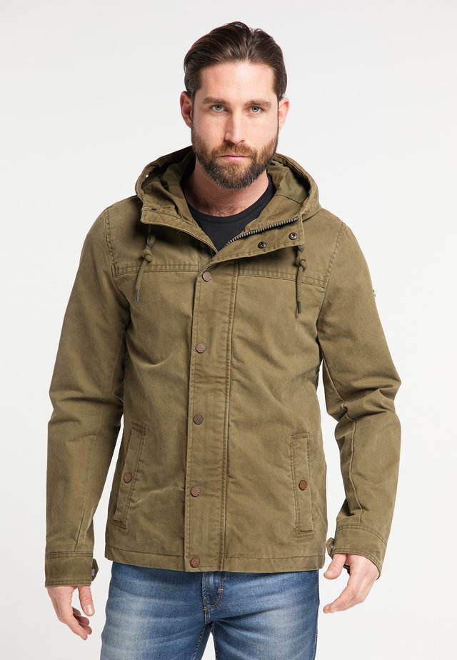 Outdoor jacket - desert green
