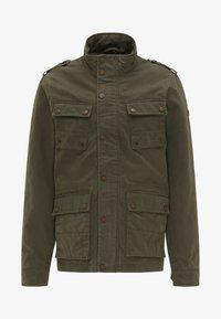 DreiMaster - Summer jacket - dark olive - 4