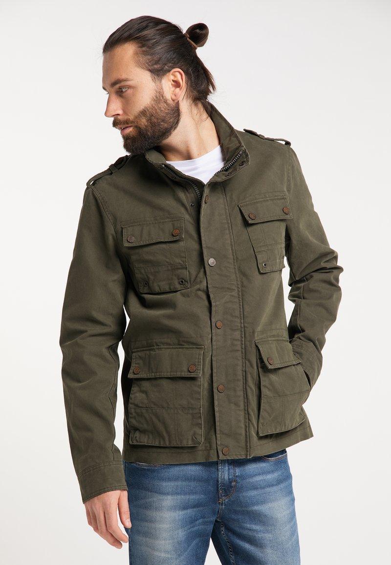 DreiMaster - Summer jacket - dark olive