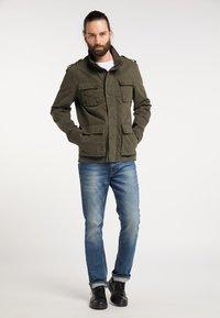 DreiMaster - Summer jacket - dark olive - 1