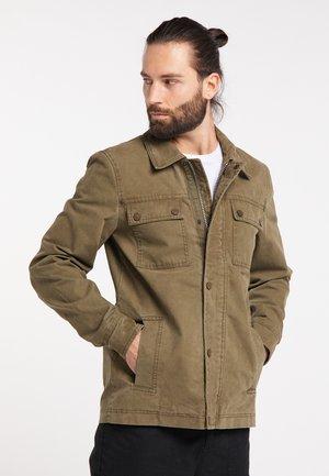 Summer jacket - desert green
