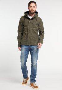 DreiMaster - Light jacket - dark olive - 1