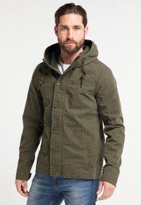 DreiMaster - Light jacket - dark olive - 0