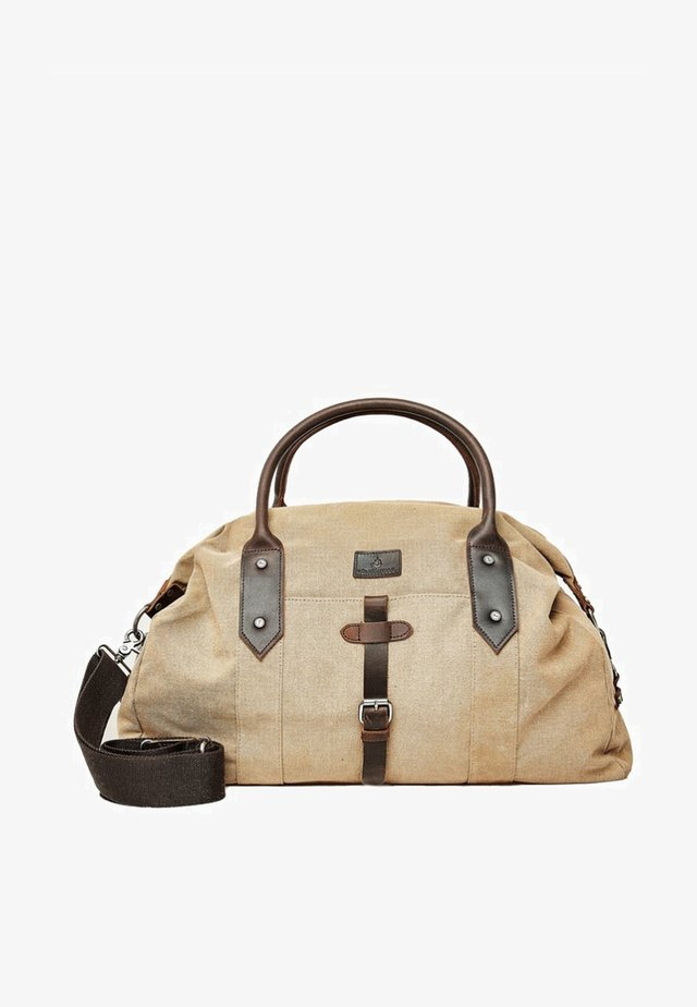 Weekend bag - sand