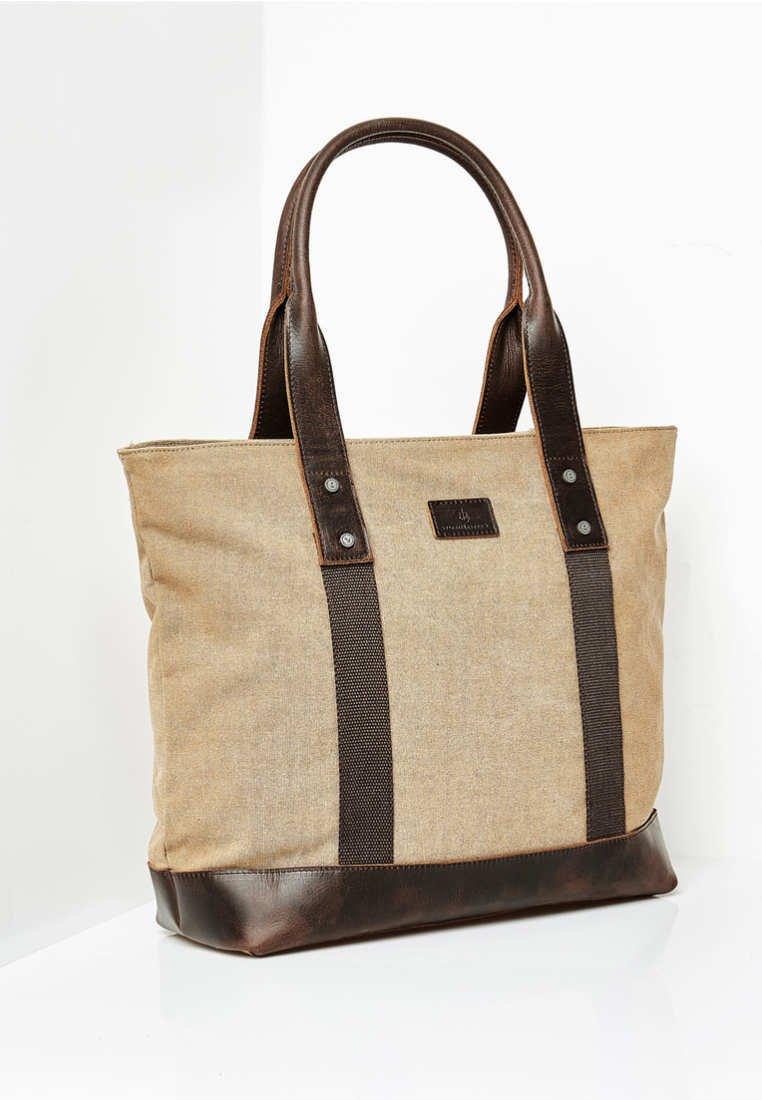 Dreimaster - Shopping Bag - sand