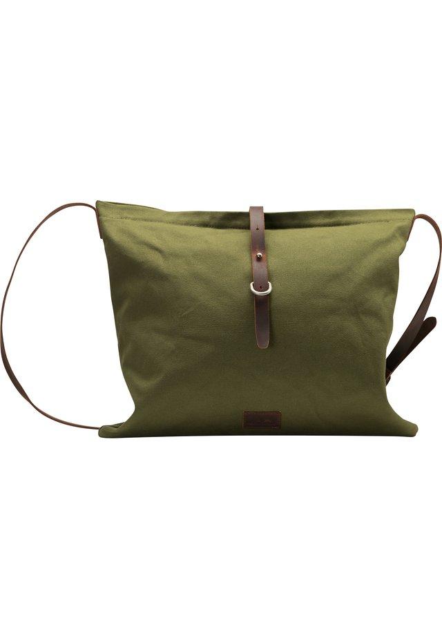 DREIMASTER SHOPPER - Tote bag - oliv braun
