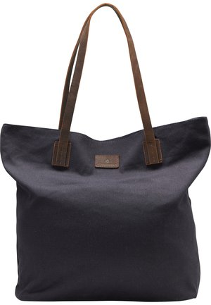 DREIMASTER SHOPPER - Shopping Bag - marine braun