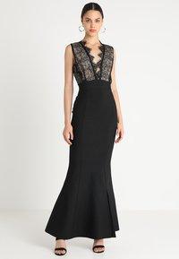 Forever Unique - Společenské šaty - black - 0