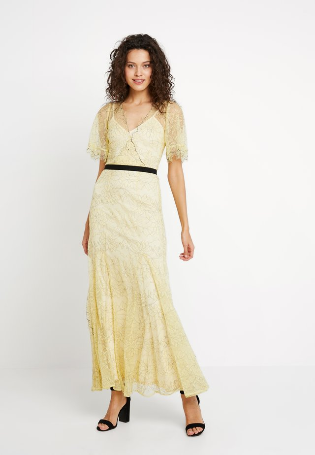 Occasion wear - lemon/nude