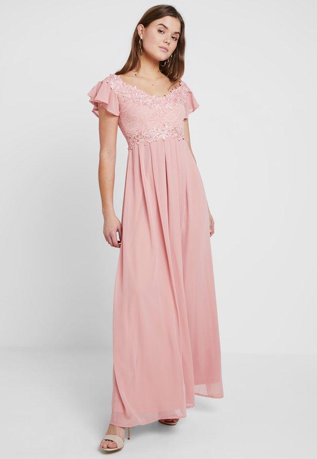 Gallakjole - blush pink