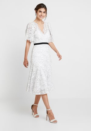 Společenské šaty - ivory/black