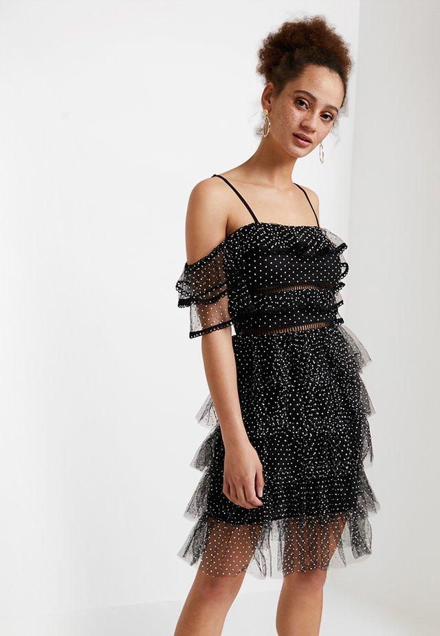 Cocktailklänning - black/ivory