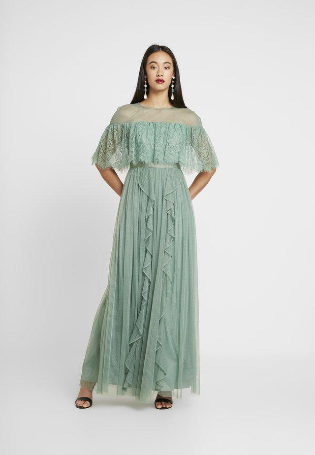 Suknia balowa - sage