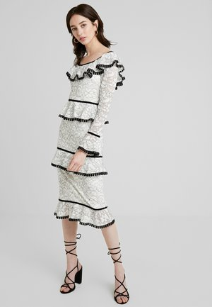Cocktail dress / Party dress - black/ivory
