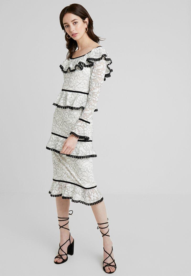 Forever Unique - Cocktail dress / Party dress - black/ivory