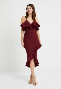 Forever Unique - Cocktail dress / Party dress - wine - 0