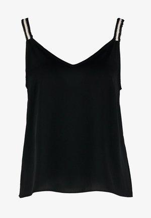 JENNA - Top - black/ivory