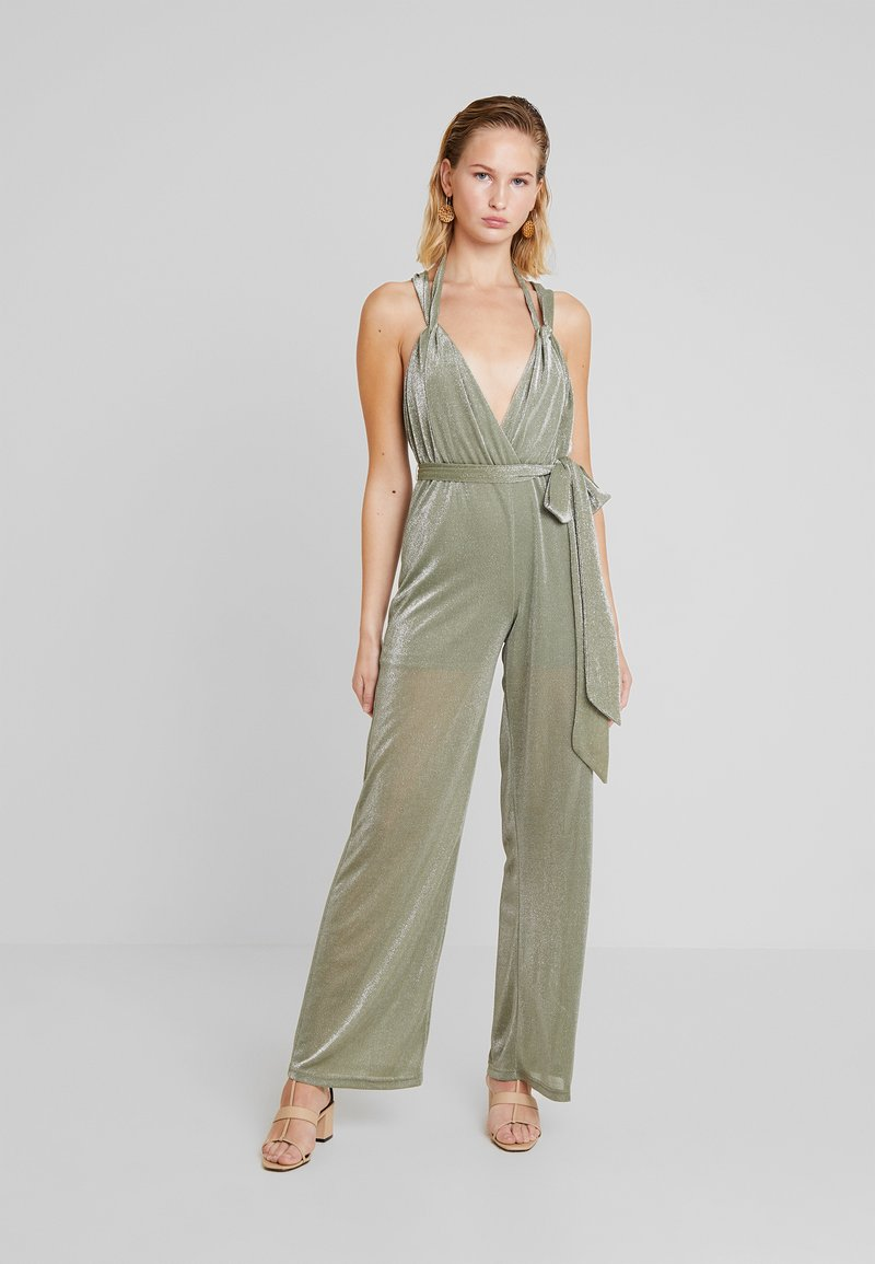 Forever Unique - Jumpsuit - sage