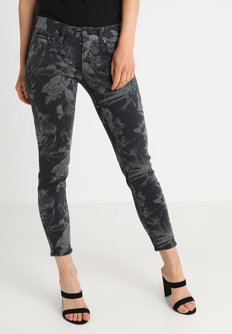 Herrlicher - TOUCH SLIM - Trousers - antra