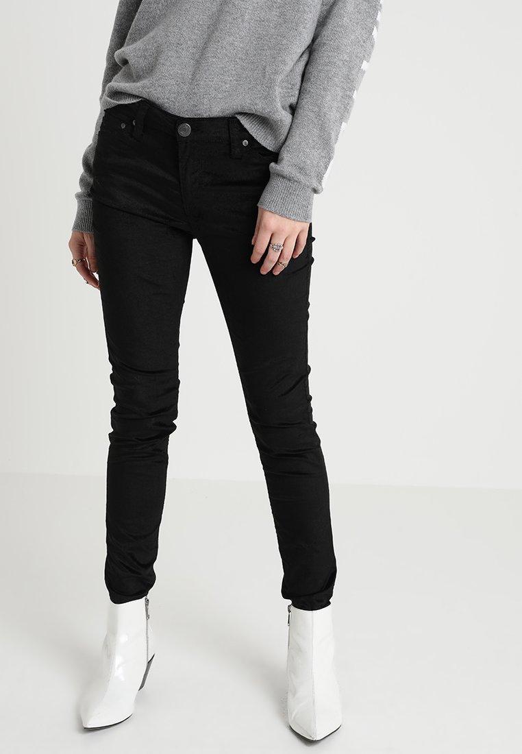 Herrlicher - SUPER  - Trousers - black