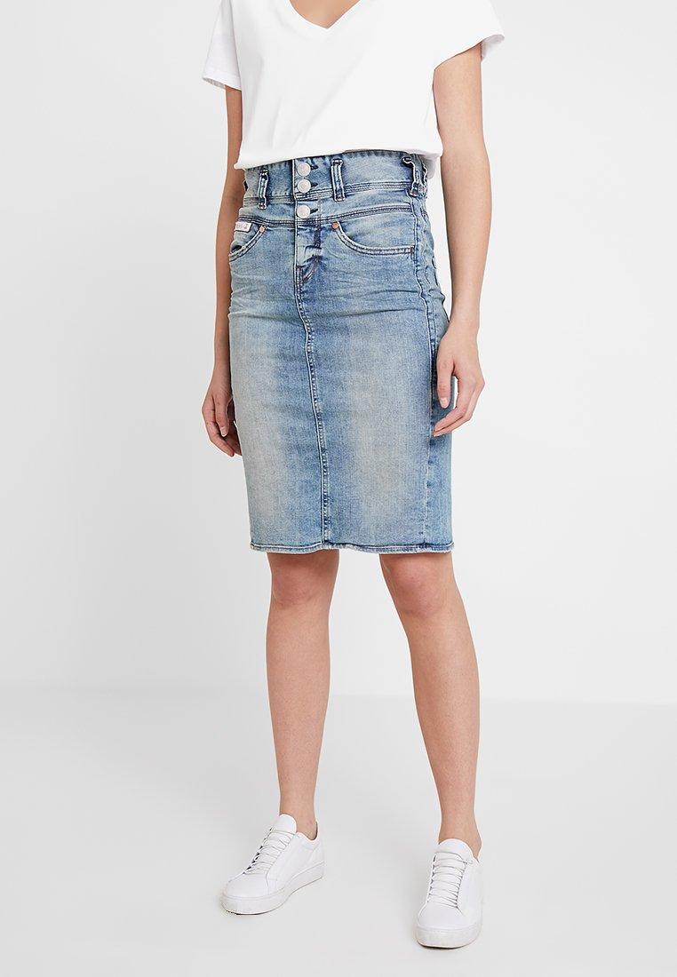 Herrlicher - RAYA SKIRT - Blyantnederdel / pencil skirts - crease