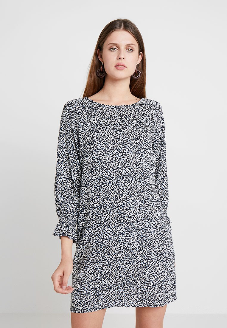 Herrlicher - ISARELLI PRINTED - Day dress - light navy
