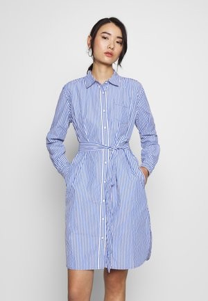 SKARA DRESS STRIPE - Shirt dress - ink
