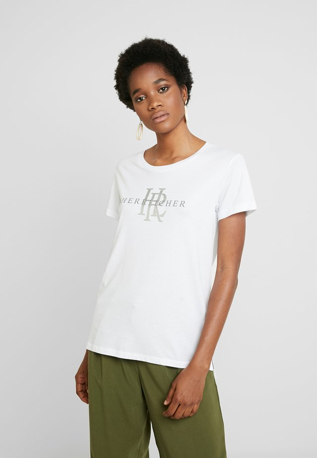 KENDALL - T-shirts print - white