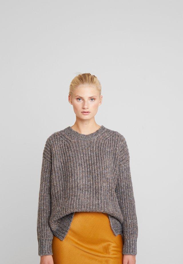 NELLINA - Jersey de punto - grey melange