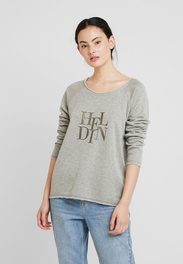 FREYJA GLITTER - Sweatshirts - gold