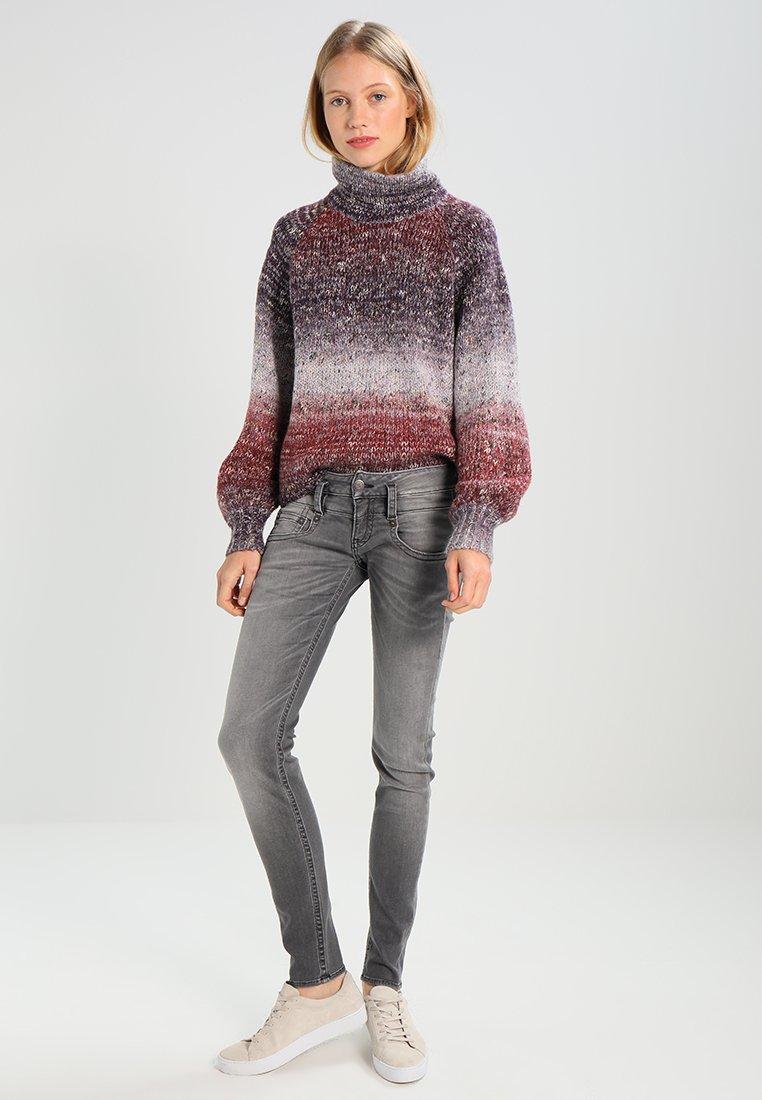 Herrlicher - PITCH SLIM - Slim fit jeans - dark ash