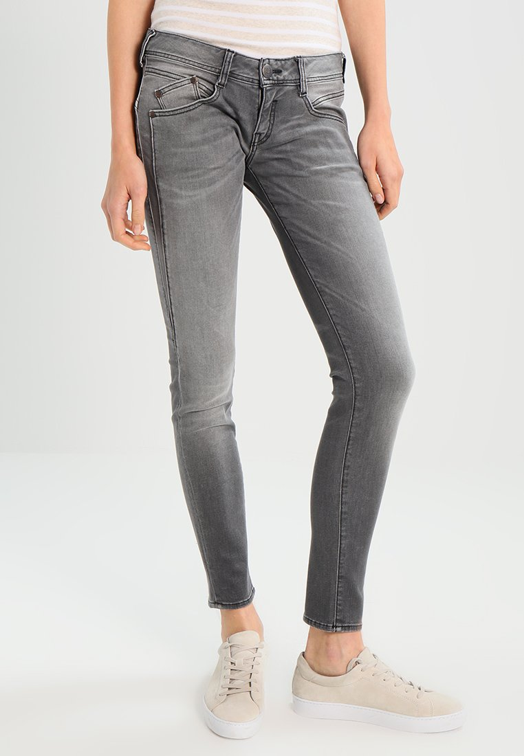 Herrlicher - GILA SLIM - Slim fit jeans - dark ash