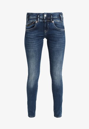 PEARL - Jean slim - dark-blue denim